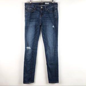 Aeropostale Skinny Jean Low Rise Medium Wash